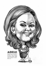 Cartoon: Adele (small) by Szena tagged singer,composer,adele