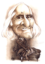 Cartoon: Liszt Ferenc Year 2011 (small) by Szena tagged liszt,ferenc,franz,caricatur,componist,vituoso,pianist