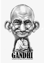 Cartoon: Mahatma Gandhi (small) by Szena tagged mahatma,gandhi,bapu,indian