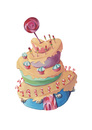 Cartoon: Candy-House (small) by Lissy tagged candy,süßigkeiten,bunt,lecker,essen,lollie,zuckerstange