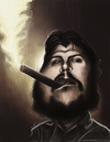 Cartoon: El Che Ernesto Guevara (small) by jaime ortega tagged el che ernesto guevara