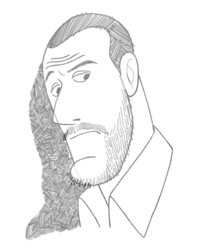 Cartoon: Jean Reno (medium) by BDTXIII tagged jeanreno,bdtxiii