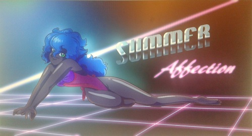 Cartoon: Retro Girl Melyona Summer 001 (medium) by BDTXIII tagged retrogirlmelyona