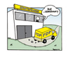 Cartoon: Idiotenfabrik (small) by Marcus Trepesch tagged cartoon,politics,comic,germany,funnies,guido,westerwelle