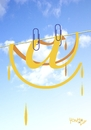 Cartoon: clothes line (small) by Tonho tagged clothes,line,arroba