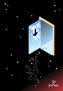 Cartoon: Go outputs (small) by Tonho tagged go,outputs,night,day,sky,hell