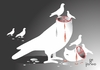 Cartoon: Peace (small) by Tonho tagged peace,dove,pigeon