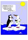 Cartoon: Erd-Erwärmung (small) by gert montana tagged gertoons,pinguins,erderwärmung