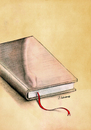 Cartoon: snakes in a book (small) by aytrshnby tagged snake