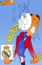 Cartoon: Guardiola surprise!!!! (small) by emir cartoons tagged guardiola,surprise,champions,league,real,madrid,bayern,munchen