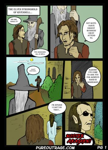 Cartoon: Lord of the Smiths 1 (medium) by egorger tagged elrond,matrix,lord,rings,aragorn,gandalf,pure,outrage