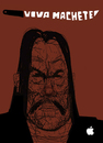 Cartoon: Machete (small) by Dailydanai tagged machete,danny,trejo