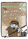 Cartoon: Modern Warfare 2 (small) by Dailydanai tagged modern,warfare,call,of,duty,infinity,ward,video,games,activision,dailydanai