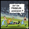 Cartoon: Friseur (small) by Anjo tagged wm em fussball frau frauenfussball