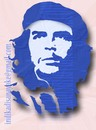 Cartoon: che guevara stencil (small) by indika dissanayake tagged che guevara