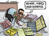 Cartoon: USA wants to deal with WikiLeaks (small) by Satish Acharya tagged usa,wikileaks,assange,china