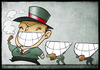 Cartoon: Bearers of Happiness (small) by Giacomo tagged happiness,carriers,slaves,blacks,racism,exploitation,work,entrepreneur,rich,poor,smile,teeth,mouth,giacomo,cardelli,lombrioi