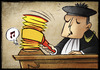 Cartoon: Giustice (small) by Giacomo tagged justice,hammer,magistrate,note,giacomo,cardelli