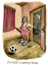Cartoon: Football s coming home (small) by POLO tagged fussball,soccer