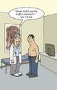 Cartoon: Ohne Hemd (small) by POLO tagged gesundheit,hemd,arzt,patient