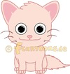 Cartoon: PINK KITTEN CAT KATZE KITTY (small) by fcartoons tagged pink,kitten,cat,katze,kitty,rosa,smile,smiling,happy,baby