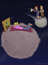 Cartoon: Teen Planet (small) by fcartoons tagged teen planet parents girl teenager mädchen eltern pubertät puberty planets universe fcartoons cartoon schwarm poster vater mutter mother
