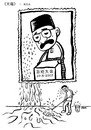Cartoon: 4 pcs cartoon about Dr.Mahathir (small) by sam seen tagged dr,mahathir