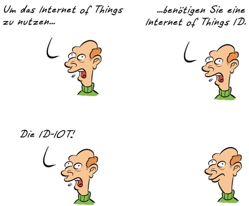 Cartoon: Kommentar Smart (medium) by Rob tagged kommentar,smart,internet,web,id,identifikation