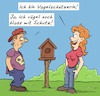 Cartoon: Vogelschutz (small) by Rob tagged vogelschutz,vogel,vögel,vögeln,bird,birds,vogelhaus