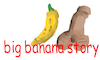 Cartoon: big banana story (small) by al-mousawi tagged eortic,adult,story