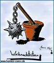 Cartoon: Weihnachtsstern (small) by Hannes tagged weihnachten,xmas,weihnachtsstern,christmas,star