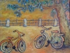 Cartoon: shall we go out together? (small) by iris lydia tagged bicycle,fahrrad,ausflug,date,dating,day,out,love
