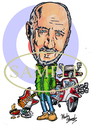 Cartoon: Pete Townshend-The Who (small) by Marty Street tagged mod,townshend,the,who