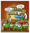 Cartoon: Schicht im Schacht (small) by Troganer tagged zwerge,kneipe,wirt
