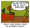 Cartoon: Tiny Comics 1 (small) by nartleby tagged fart,farting,office,stink