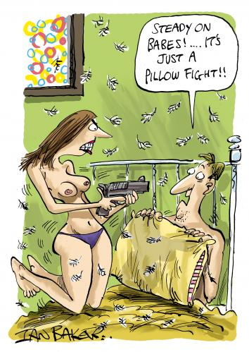 Cartoon: Penthouse USA (medium) by Ian Baker tagged couples,fight