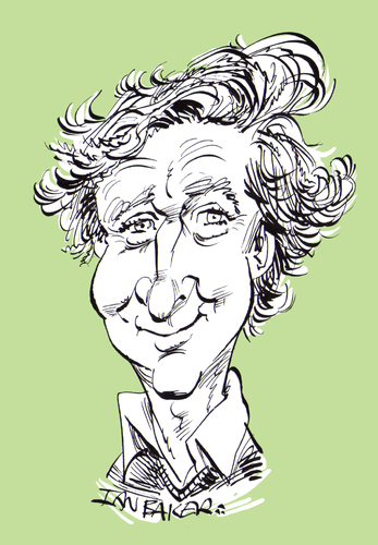Cartoon: RIP Gene Wilder (medium) by Ian Baker tagged gene,wilder,death,comedy,comedian,film,tv,star,actor,famous,mel,brookes,ian,baker,cartoon,caricature,media,died,passed,away,blazing,saddles,young,frankenstein,the,producers