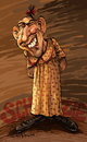 Cartoon: Schlitzie (small) by Ian Baker tagged schlitzie,freaks,surtees,simon,metz,sideshow,barnum,bailey,aztec,microcephaly,carnival,circus,film,caricature,ringling,brothers,pinhead,tod,browning,zippy