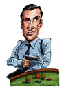 Cartoon: Sean Connery (small) by Ian Baker tagged sean,connery,james,bond,007,sixties,spy,caricature,film,movie,gun,casino,chips