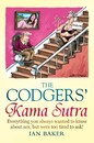 Cartoon: The Codgers Kama Sutra (small) by Ian Baker tagged kama,sutra,codgers,codger,sex,old,senior,citizens,guide,book,cover,artwork,cartoon,ian,baker,stair,lift,humour,comedy,parody,spoof,constable,and,robinson