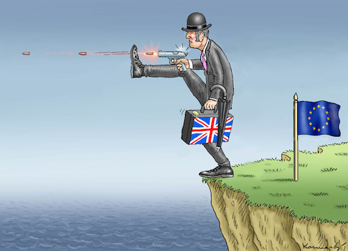 Cartoon: BREXIT SHUTDOWN (medium) by marian kamensky tagged brexit,theresa,may,england,eu,schottland,weicher,wahlen,boris,johnson,nigel,farage,ostern,seidenstrasse,xi,jinping,referendum,trump,monsanto,bayer,glyphosa,strafzölle,brexit,theresa,may,england,eu,schottland,weicher,wahlen,boris,johnson,nigel,farage,ostern,seidenstrasse,xi,jinping,referendum,trump,monsanto,bayer,glyphosa,strafzölle