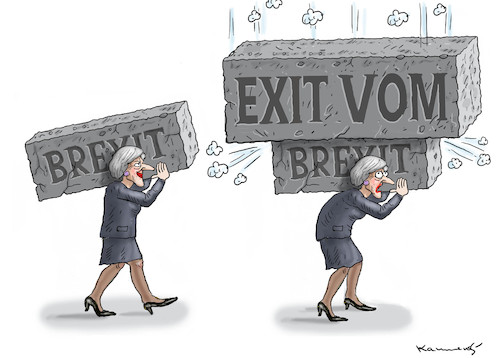 Cartoon: EXIT VOM BREXIT (medium) by marian kamensky tagged theresa,may,putin,sergei,skripal,novichok,russia,kgb,poison,attack,england,agents,brexit,theresa,may,putin,sergei,skripal,novichok,russia,kgb,poison,attack,england,agents,brexit