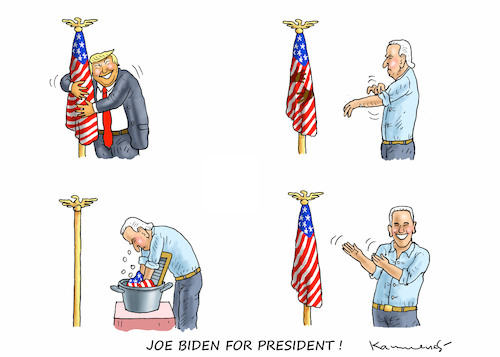 Cartoon: JOE BIDEN FOR PRESIDENT !!! (medium) by marian kamensky tagged obama,trump,präsidentenwahlen,usa,baba,vanga,republikaner,inauguration,demokraten,wikileaks,faschismus,manafort,cohen,hurrikan,florence,kavanaugh,mueller,justizminister,barr,joe,biden,for,president,obama,trump,präsidentenwahlen,usa,baba,vanga,republikaner,inauguration,demokraten,wikileaks,faschismus,manafort,cohen,hurrikan,florence,kavanaugh,mueller,justizminister,barr,joe,biden,for,president