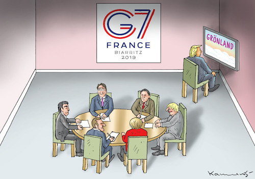 Cartoon: SEHR AKTIVER TRUMP BEIM G7 (medium) by marian kamensky tagged brexit,theresa,may,england,eu,schottland,weicher,wahlen,boris,johnson,nigel,farage,ostern,seidenstrasse,xi,jinping,referendum,trump,monsanto,bayer,g7,glyphosa,strafzölle,el,paso,brexit,theresa,may,england,eu,schottland,weicher,wahlen,boris,johnson,nigel,farage,ostern,seidenstrasse,xi,jinping,referendum,trump,monsanto,bayer,g7,glyphosa,strafzölle,el,paso