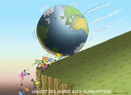 Cartoon: UNWORT DES JAHRES 2019 (medium) by marian kamensky tagged fridays,for,future,greta,thunberg,schulstreik,klimarettung,co2,suv,klimakonferenz,in,madrid,australien,brände,fridays,for,future,greta,thunberg,schulstreik,klimarettung,co2,suv,klimakonferenz,in,madrid,australien,brände