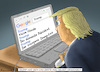 Cartoon: AGENT ORANGE ORAN-GUTAN (small) by marian kamensky tagged obama,trump,präsidentenwahlen,usa,baba,vanga,republikaner,inauguration,demokraten,wikileaks,faschismus,manafort,cohen,google