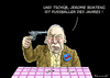 Cartoon: Boateng und Gauland (small) by marian kamensky tagged jerome,boateng,gauland,afd,fussballer,des,jahres