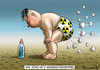 Cartoon: BOMBENSTIMMUNG IN NORD KOREA (small) by marian kamensky tagged wasserstoffbombentest,nord,korea,kim,jong,un