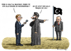 Cartoon: DER NEUE IS - KALIF ERDOGAN (small) by marian kamensky tagged irak,isis,al,baghdadi,kaida,terrorismus,assad,obama,erdogan,kalif,usa,bundeswehr