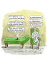 Cartoon: Gaddafi beim Psychiater (small) by marian kamensky tagged humor